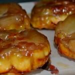 Tartelettes d'Emmental et de raisins secs